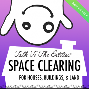 talk to the entities - haus clearing